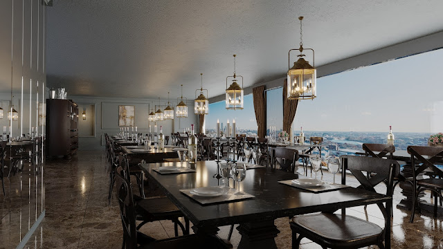 AutoCAD Restaurant Projesi İndir