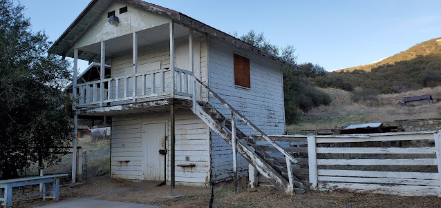 Unknown building, Hunt Ranch, Wildwood Canyon State Park