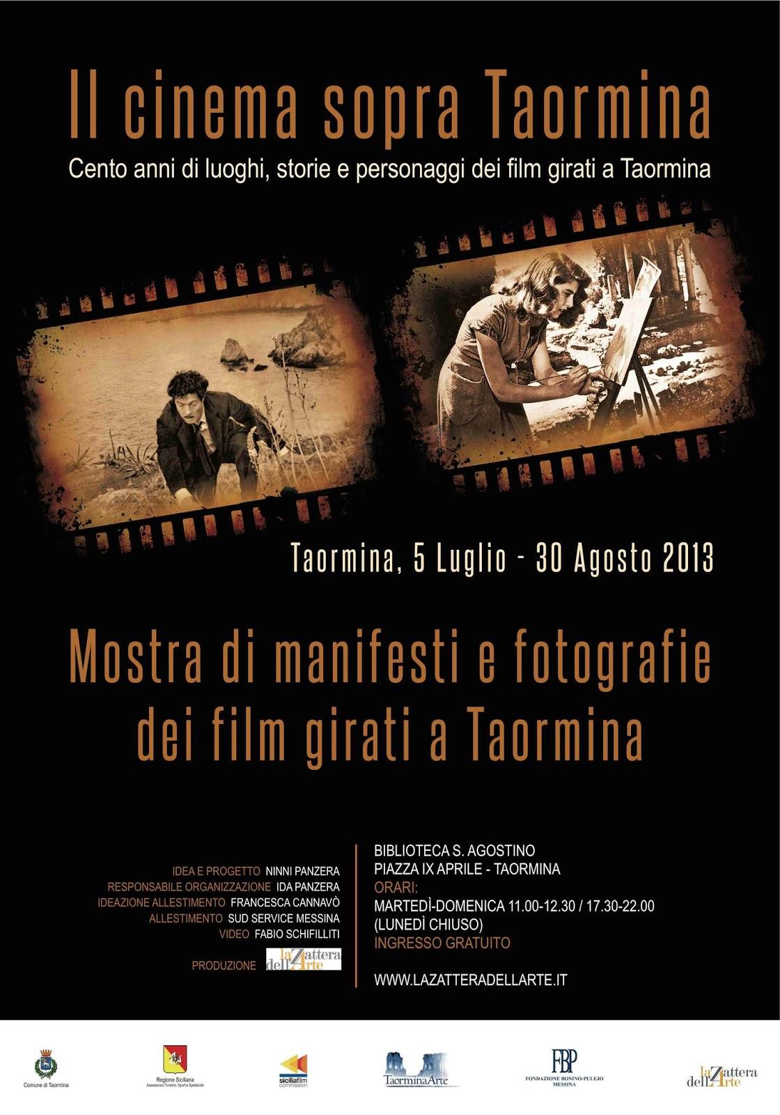 abbastanza Il cinema sopra Taormina - Mostra di manifesti e fotografie dei  CI57