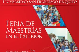 Representantes Feria de Maestrías en el Exterior 2019