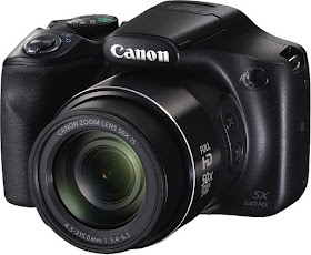 Canon PowerShot SX540HS 20.3MP Digital Camera with 50x Optical Zoom (Black)