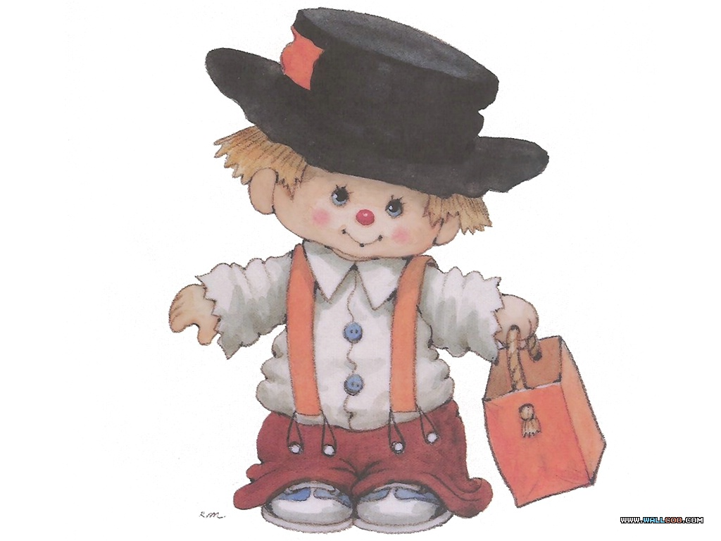 Image Result For Cute Scarecrow Color
