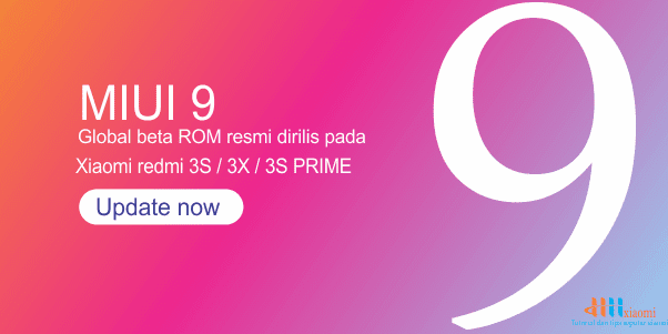 update rom xiaomi redmi 3s / 3x / 3s prime miui 9 china developer