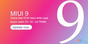 cara Update rom xiaomi redmi 3s / 3x / 3s prime miui 9 Global developer