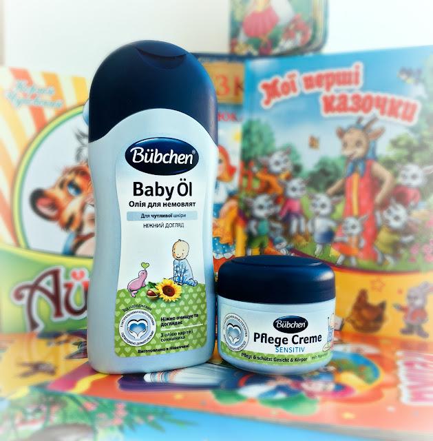 Bubchen Baby Oil