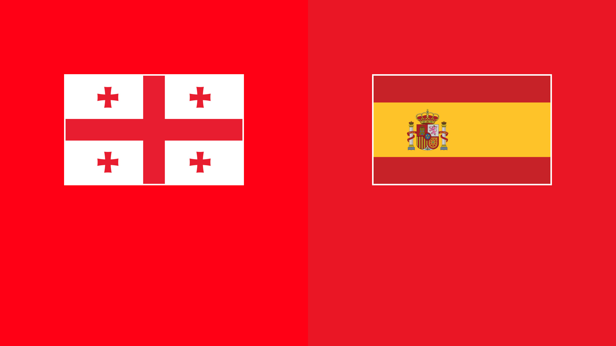 Georgia vs spain