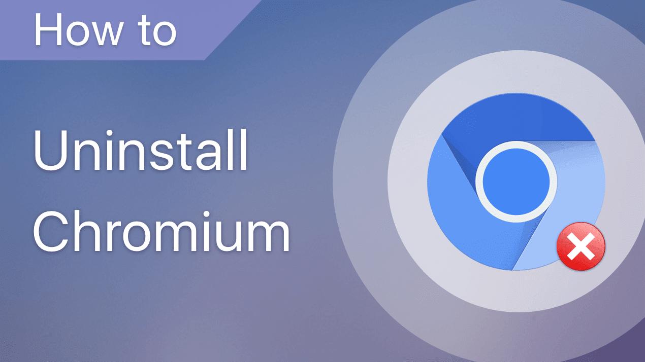 Cara Hapus Chromium Browser