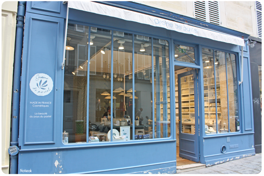 boutique Graine de Pastel du Marais à Paris