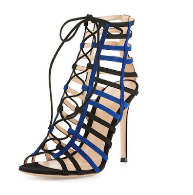 Gianvito Rossi for Mary Katrantzou Caged stiletto sandals