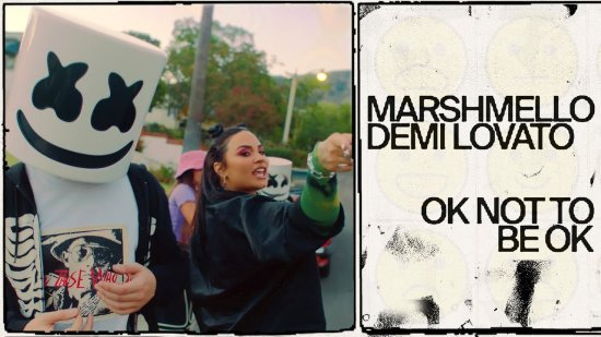 Ok Not To Be Ok Lyrics Demi Lovato | Marshmello