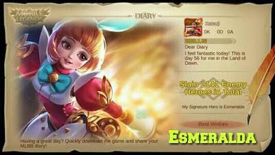 Cara Menggunakan Hero Esmeralda