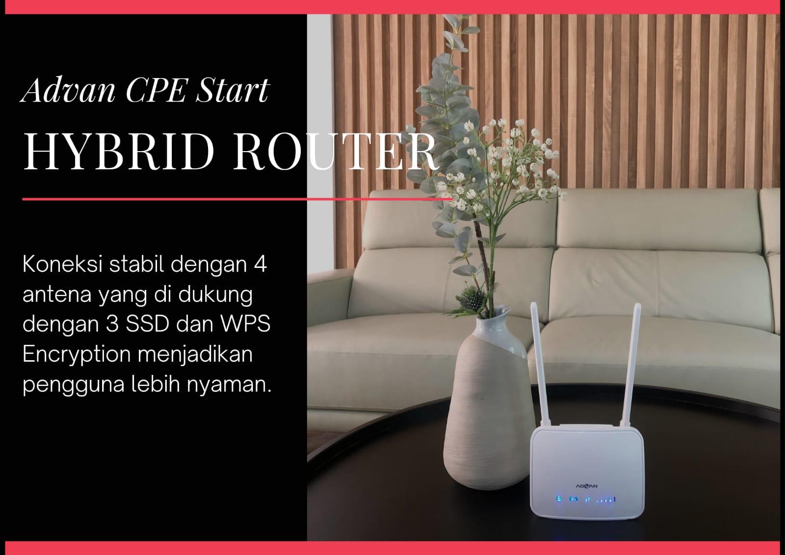 keunggulan hybrid router