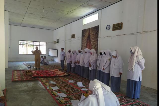 Rohis Almujtahid SMAN 1 Sukamakmur adakan pengajian