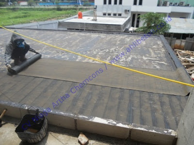 Kontraktor Waterproofing Membrane Bakar