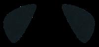 獣耳のイラスト(黒3)