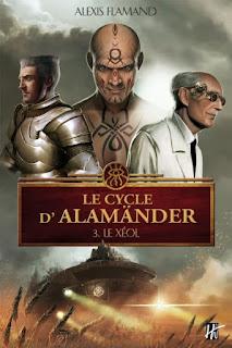 Couverture livre - critique littéraire - Alamänder - Le Xéol