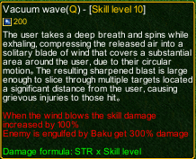 Naruto Castle Defense 6.0 vacuum wave detail