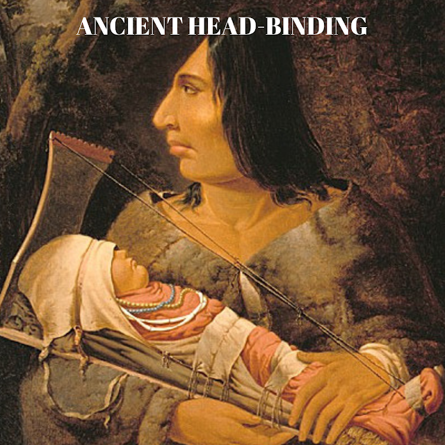 Ancient head-binding was very common but what was it based on.