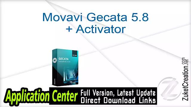 Movavi Gecata 5.8 + Activator