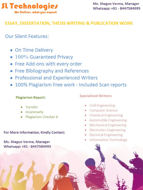 SL Technologies have experienced writers for research work