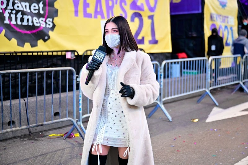 Lucy Hale Clicks at Dick Clark's New Year's Rocking' Eve in New York 31 Dec-2020