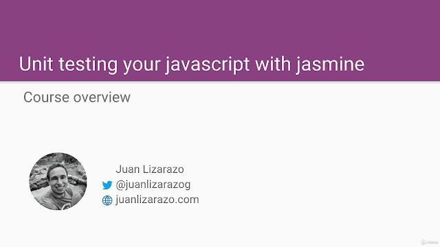 Unit testing your Javascript with jasmine