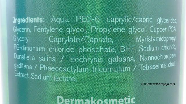 agua micelar dermakosmetic placton marino