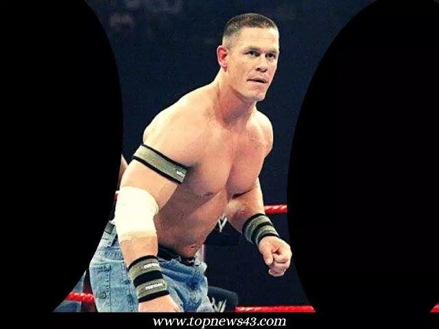 American professional wrestler John Cena