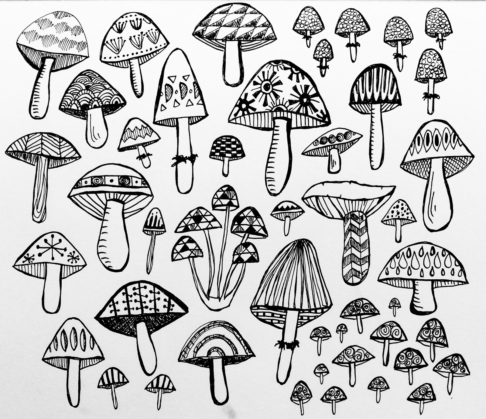 Uncategorized Mushroom Drawing the rare pear studio blog how to draw a mushroom because i so here you are little video or two of me drawing some mushrooms nothing too fancy just few shapes and bit shading an