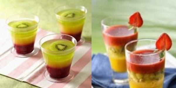 Resep Membuat Puding Triple Fruits Spesial Resep Membuat Puding Triple Fruits Spesial