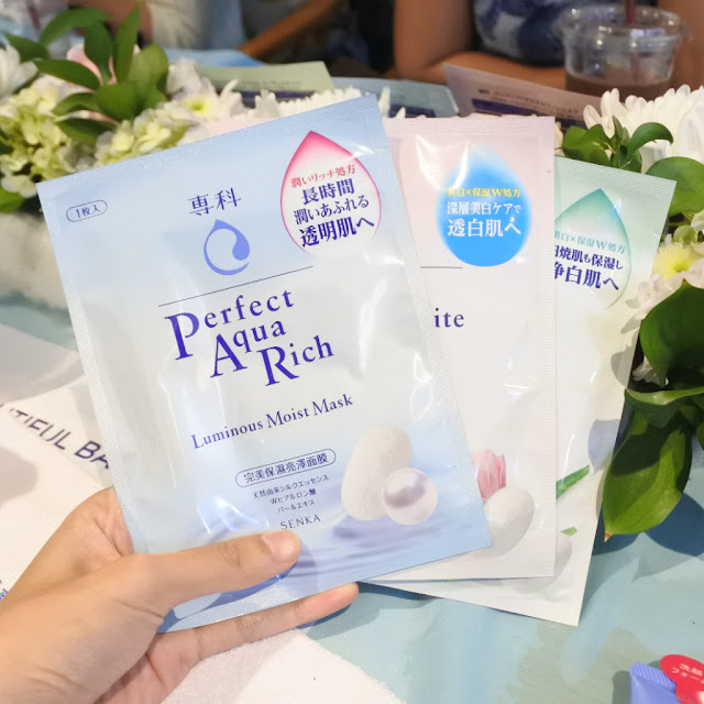 Senka Perfect Aqua Mask