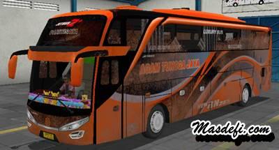 livery bussid shd agam tungga jaya kotor