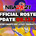 NBA 2K21 OFFICIAL ROSTER UPDATE 05.13.21 LATEST TRANSACTIONS+UPDATED LINEUPS