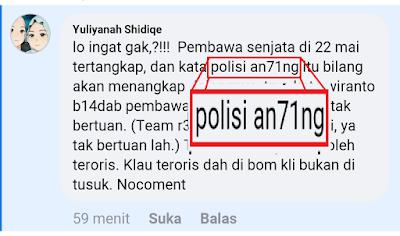 netizen hina polisi