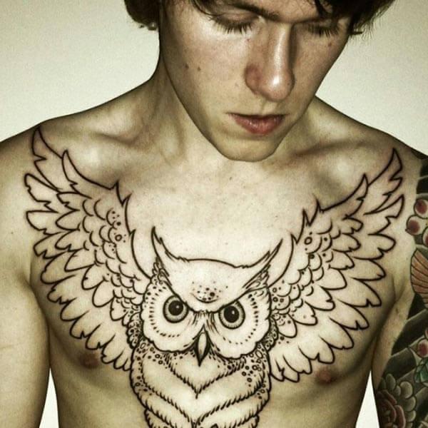baykuş dövmesi anlamları