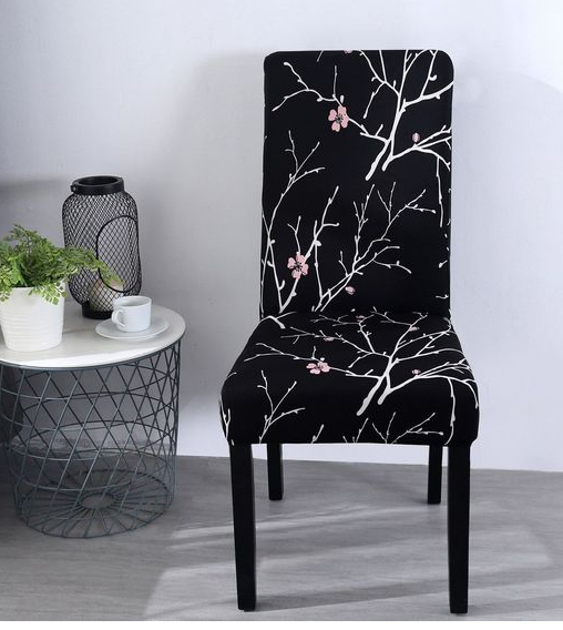 beautifull single cover sofa couch with Dark and flower design for coffe table