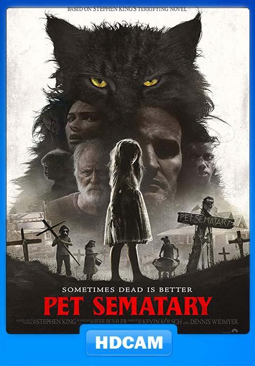Pet Sematary 2019 720p HDCAM x264 | 480p 300MB | 100MB HEVC