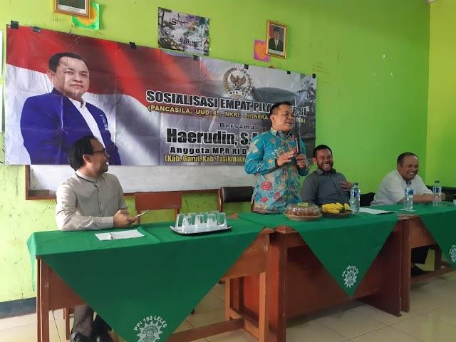 Legislator Haerudin Kembali Sosialisasikan 4 Pilar Kebangsaan di Garut