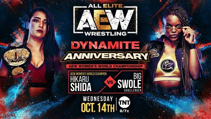 Grande combate por título é anunciado para o próximo AEW Dynamite