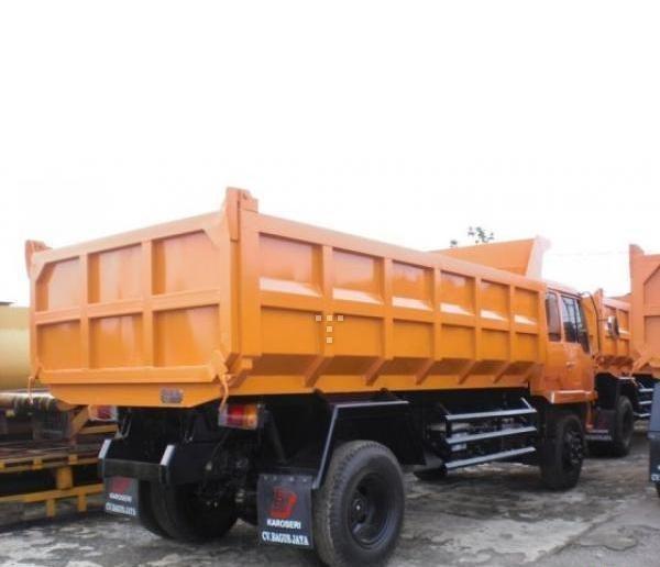paket kredit dp kecil dump truck mitsubishi fuso 2019