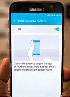 Cara mengambil screenshot di Samsung Galaxy S7 sangat Mudah, Begini caranya