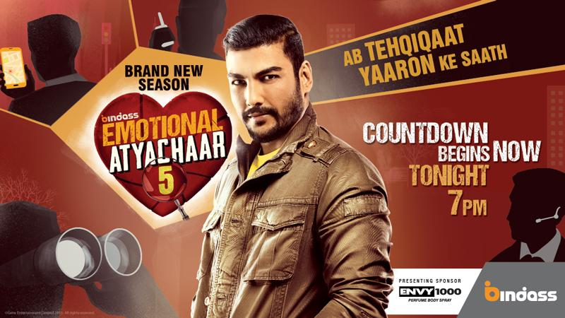 Emotional Atyachaar 5 reality tv serial wiki, Bindass Emotional Atyachaar 5 show timings, Barc & TRP rating this week, actress, pics, Title Songs