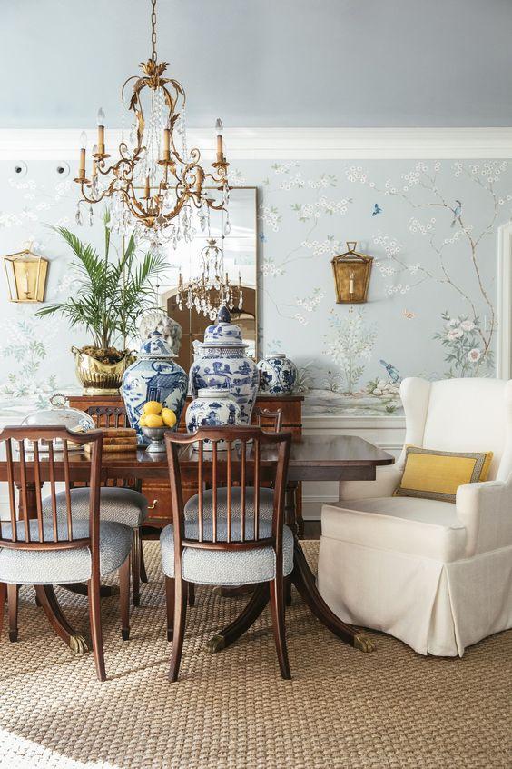 Hausratversicherungkosten Chinoiserie Dining Room In Collection 5389