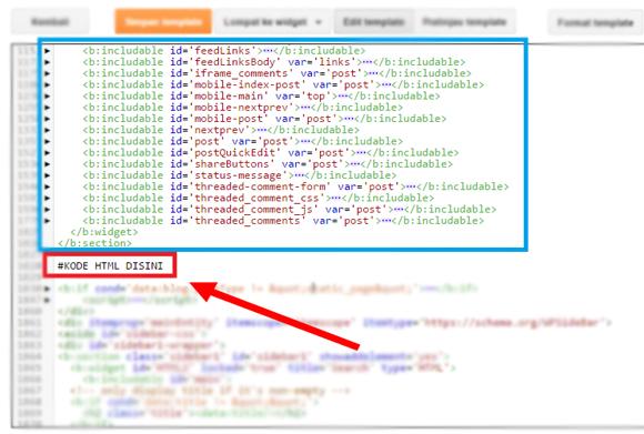 Cara Memasang Widget Recent Post Berdasarkan Label di Blog