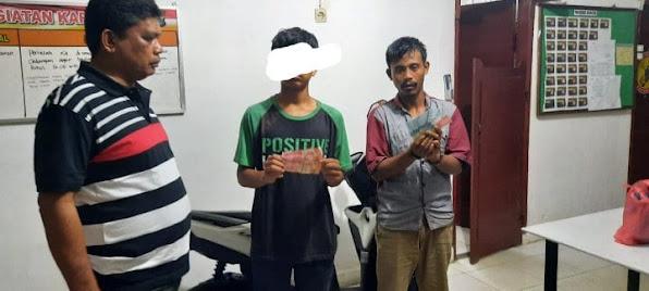 Dua Pelaku Pencuri Cabai Diarak Warga di Sidamanik