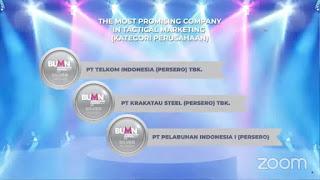 Pelindo 1 Raih Penghargaan BUMN Marketeers Award 2021