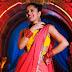 Anasuya latest photos in half saree sleeveless blouse from jabardasth show