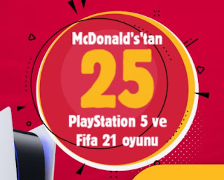 McDonalds Playstation Çekilişi