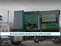 Bank Mandiri Syariah KCP Solok Kota Terakhir Senin 01 Juli 2019, Teller dan Sales Force - S1 dan D3 Semua Jurusan
