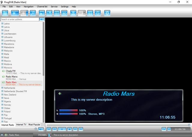 تحميل برنامج ProgDVB لمشاهدة قنوات التلفزة والإستماع إلى محطات الراديو